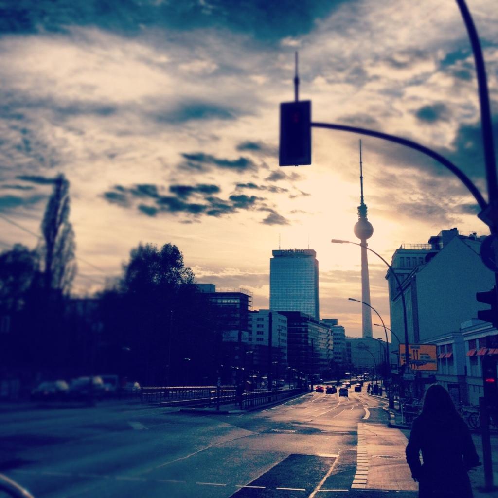 Berlin hiver.