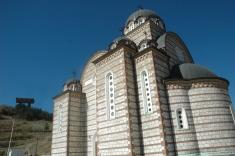Eglise orthodoxe de Mitrovica Nord.
