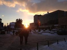 Municipalité de Mitrovica, côté albanais.